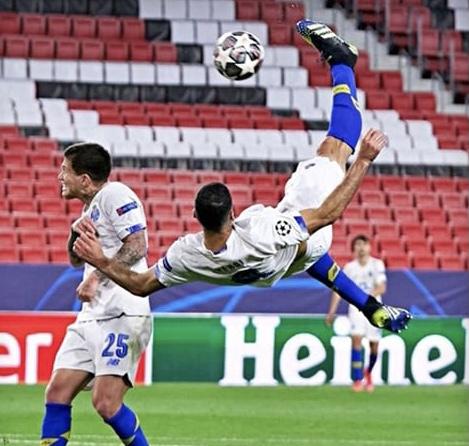 گل طارمی بهترین گل دور برگشت لیگ قهرمانان اروپا